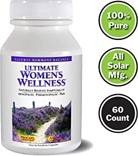 Andrew Lessman Ultimate Women's Wellness 60 Capsules – Naturally Relieves Menopause Symptoms, PMS & Perimenopause, with Soy Isoflavones, EGCG, Cranberry, Indole-3-Carbinol. Easy to Swallow Capsules