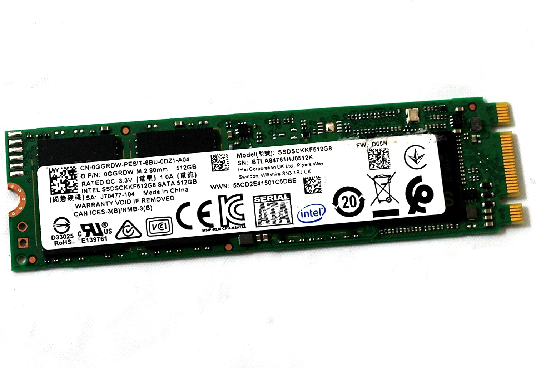 GGRDW SSDSCKKF512G8 512GB M.2 Clearance SALE Max 63% OFF Limited time SATA SSD