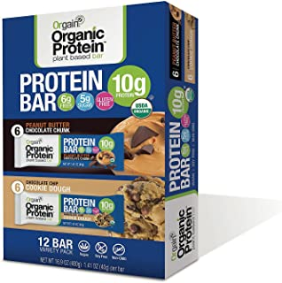 Orgain Protein Organic Protein Bar, 16.9 Ounce