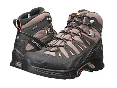 Salomon Quest Prime GTX(r) (Deep Taupe/Phantom/Tawny Orange) Women