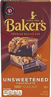 Best baker's dark chocolate ingredients Reviews