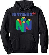 Nintendo 64 Classic Logo Retro Vintage Graphic Hoodie