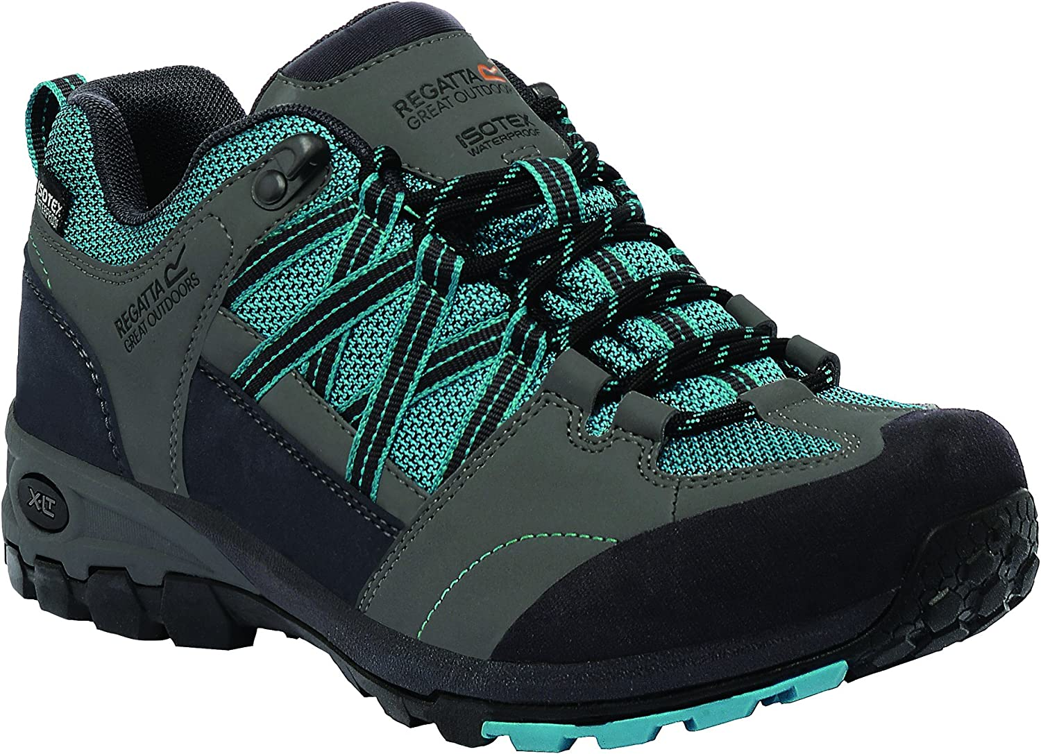 Regatta Great Outdoors Womens Ladies Lady Samaris Low Contrast Hiking Boots