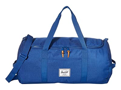 Herschel Supply Co. Sutton (Monaco Blue Crosshatch) Duffel Bags