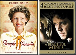 Genius Thinks Outside the Box - A Beautiful Mind & Temple Grandin - Two Inspirational True Stories of Inspirational People...