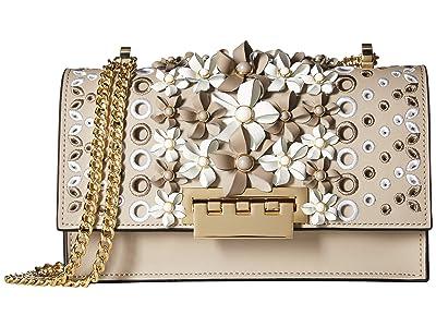 ZAC Zac Posen Earthette Chain Shoulder (Cobblestone) Shoulder Handbags