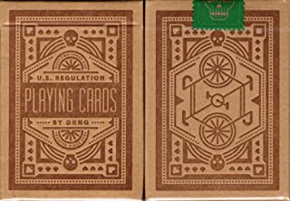 Art of Play Green Wheel Playing Cards Poker Size Deck USPCC Custom Limited Edition