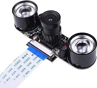 Kuman カメラモジュール Raspberry Pi用 夜間 赤外線可視 ラズベリーパイ 500W画素 Pi 4B 3 2 SC15