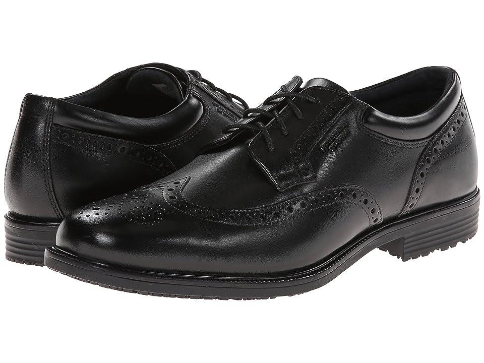 Rockport LTP Wing Tip (Black WP Leather) Men