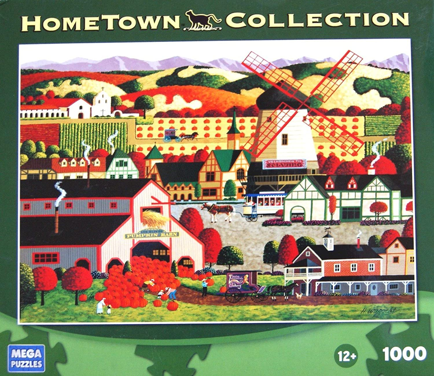 Hometown Collection 1000 Mega Puzzle ; Solvang