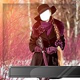 Montura de fotos de vestido de invierno