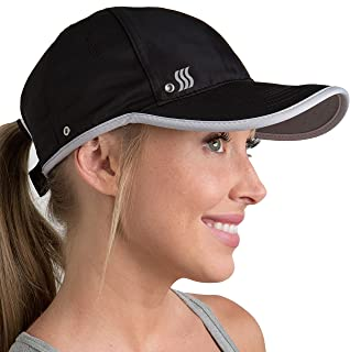 SAAKA Featherlight Sports Hat. Premium Packaging. Lightweight, Quick Drying. Running, Tennis & Golf Cap for Women & Girls
