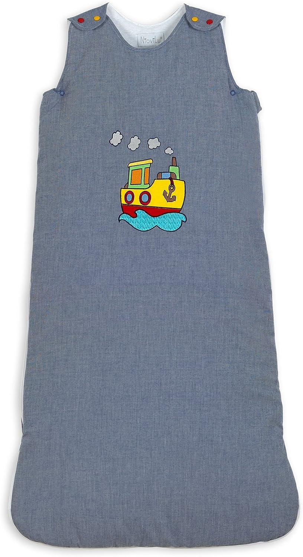 NioviLu Design Baby Schlafsack Schlafsack Schlafsack - Battello In Mare (18-36 Monate   105 cm - 1 Tog) B01CMHOOI2 b06ca9