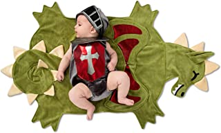 Princess Paradise Swaddle Wings Dragon Slayer Baby Costume, As Shown