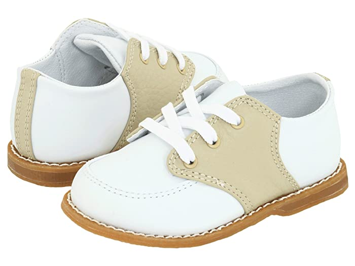 Kids 1950s Clothing & Costumes: Girls, Boys, Toddlers Baby Deer Conner Toddler WhiteTan Boys Shoes $39.99 AT vintagedancer.com