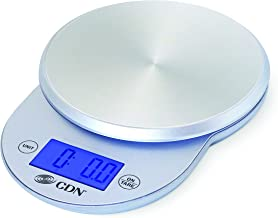 CDN SD1104-W ProAccurate Digital Kitchen Scale, 11 lb 11 lb Silver