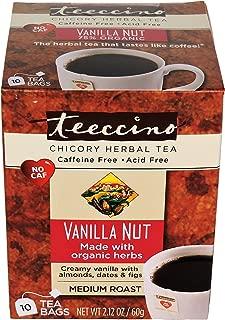 Teeccino Medium Roast Chicory Herbal Tea, Vanilla Nut 0.06 Kilogram