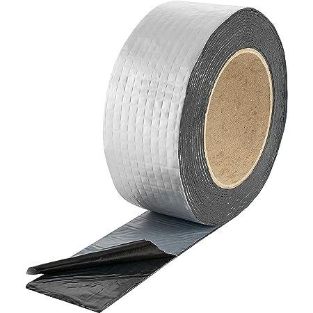 50-150mm*5m starkes wasserdichtes Klebeband Butyl Seal Gummi Aluminiumfolienband