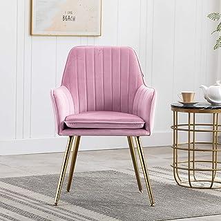 Artechworks Velvet Modern Living Dining Room Arm Chair...