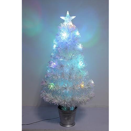 White Led Christmas Tree Amazon Co Uk