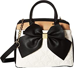 Belted Bow Satchel
