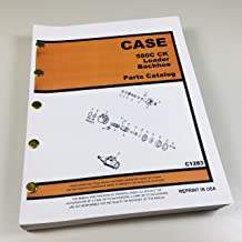 Case 580C Loader Backhoe Parts Catalog Manual Assembly Exploded Views Numbers