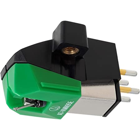 Audio-Technica AT-VM95E Dual Moving Magnet Turntable Cartridge Green