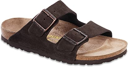 Birkenstock Women's Arizona Sandal Mocha Suede Size 38 N EU