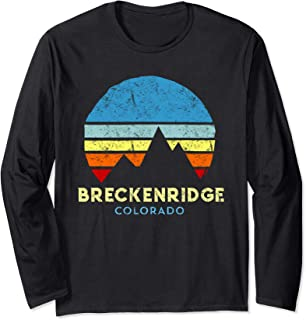 Breckenridge Colorado Long Sleeve T-Shirt