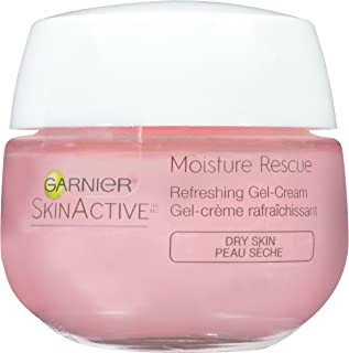 Garnier SkinActive Moisture Rescue Refreshing Gel-Cream for Dry Skin, 1.7 Ounces