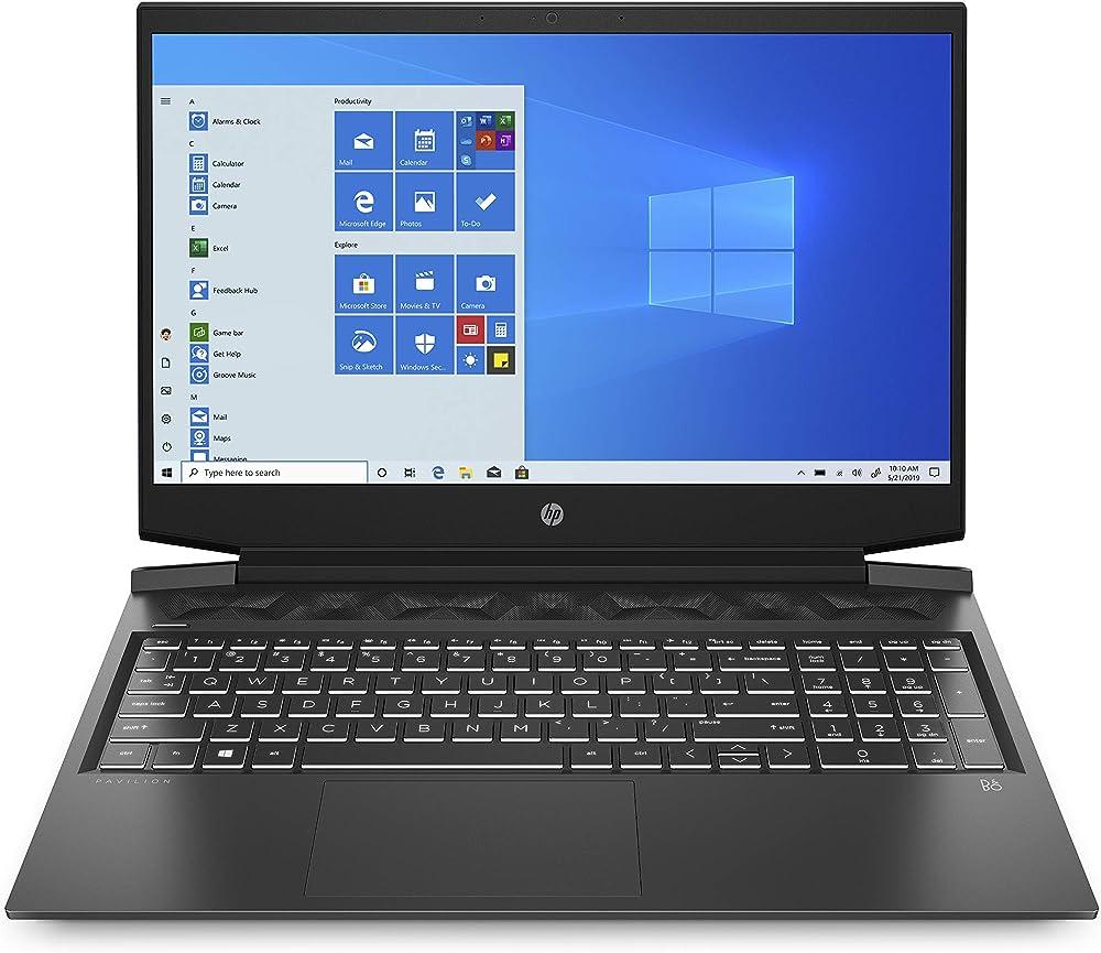 Hp gaming pc portatile intel core i7 ram 16 gb ssd 512 gb nvidia geforce rtx max-q 2060 6gb HP Pavilion 16-a0004sl