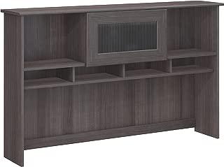 Bush Furniture Cabot 60W Hutch, Heather Gray