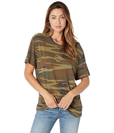 Alternative Eco Shirttail Tee (Camouflage) Men