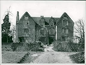 Vintage photo of Lord Ironside restores Morley Old Hall