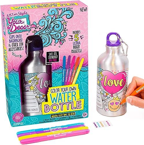 Your Déco Kit para Decorar Tu Propia Botella de Agua