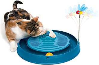 Catit Play 3 in 1 Circuit Ball Toy with Catnip Massager
