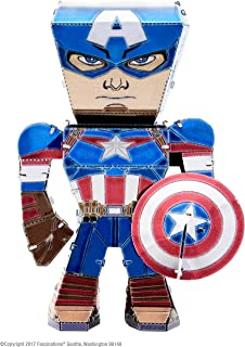 Metal Earth MEM001 Avengers Captain America Metal Model