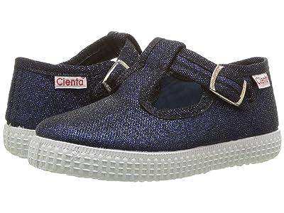 Cienta Kids Shoes 51013 (Infant/Toddler/Little Kid/Big Kid) (Navy) Girls Shoes