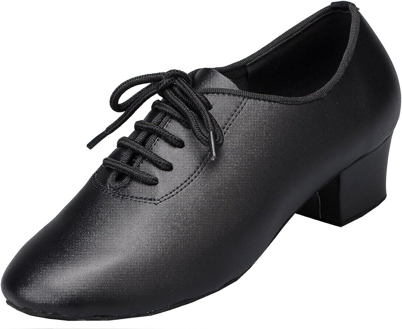 TDA LD037 Womens PU Leather Latin Modern Samba Rumba Wedding Dance shoes