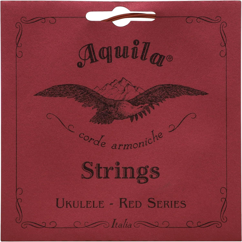 Max 69% OFF Aquila Red overseas Series AQ-70 Soprano Ukulele Str Low 4th String G -