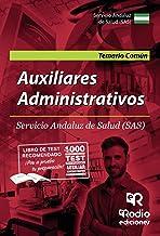 Auxiliares Administrativos: Servicio Andaluz de Salud (SAS)  Temario Común