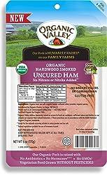 Organic Valley, Organic Hardwood Smoked Uncured Sliced Ham - 6 oz