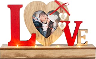 Love Picture 3.1 x 3.1 Wedding Frame, Perfect Bridal Gift, Couple, Anniversary, Bride Shower, Engagement Couples Gifts, Photo Frames Decor, Unique Wedding Registry Personalized Cute Love Gift
