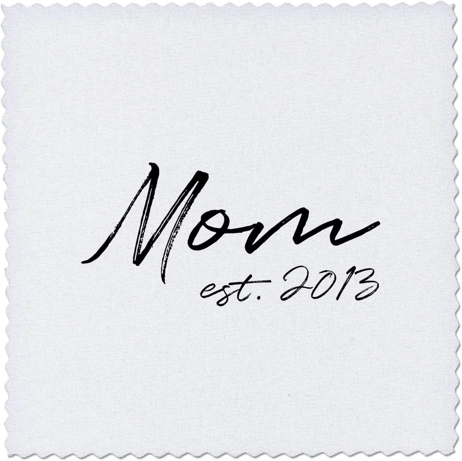 3dRose Bargain Mom Max 88% OFF established 2013. Black on lettering white. felt pen