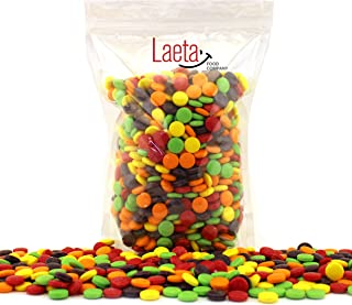 LaetaFood Pack, Spree Original Hard Candy, Fruit Flavored Halloween Candy (3 Pound Bulk Pack)