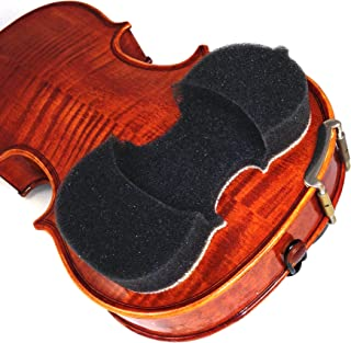 NEW! & Improved 2019 Model - AcoustaGrip 'PRODIGY CHARCOAL' Violin Shoulder Rest- Fits 1/8, 1/4 and 1/2 Size Violins and Violas
