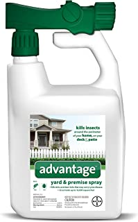 Flea and Tick Yard and Premise Spray, 32 oz, Advantage