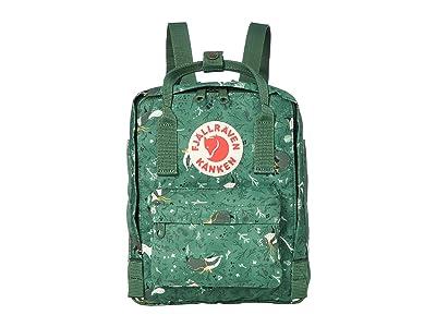 Fjallraven Kanken Art Mini (Green Fable) Backpack Bags