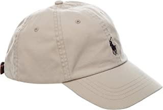 Polo Ralph Lauren Signature Pony Cap with Leather Buckle Strap for Men