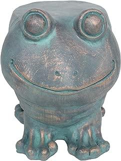 frog garden stool